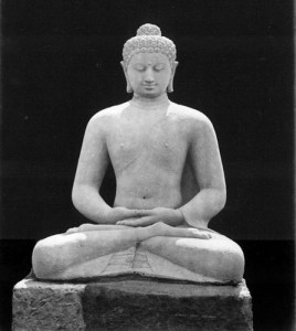 Seated Buddha by Isidore van Kinsbergen